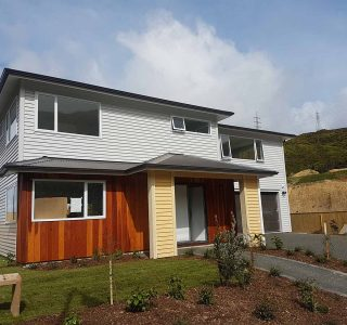 New Home Build in Crofton Downs, Wellington
